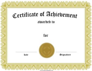 certificate-of-achievement